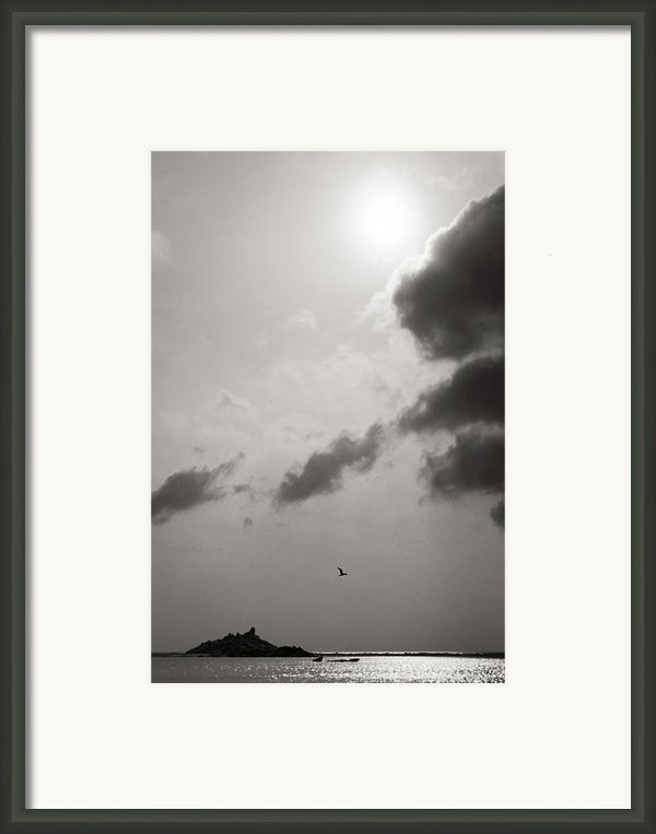 Light Of The Sky Framed Print By Konstantin Dikovsky