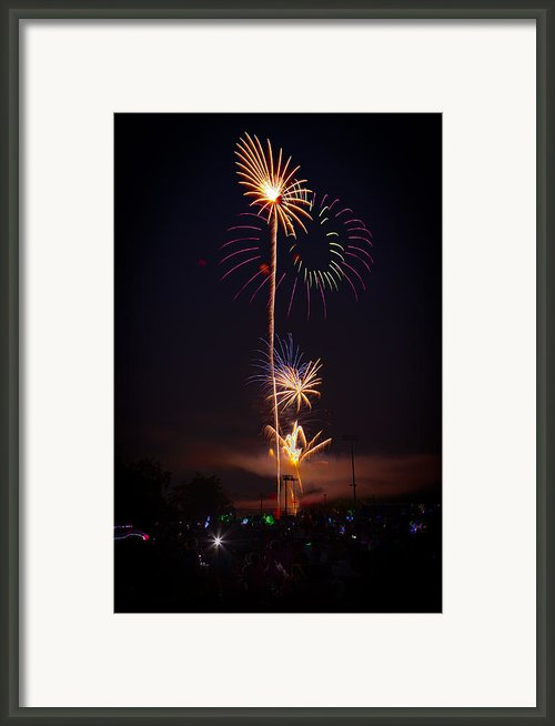 Light Up The Night Framed Print By David Hahn