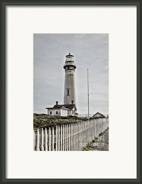Lighthouse Framed Print By Heather Applegate