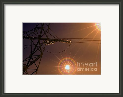 Lighting Framed Print By Odon Czintos