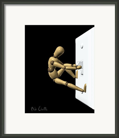 Lights Out Framed Print By Bob Orsillo