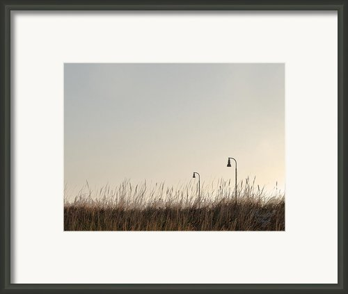 .lights Framed Print By Renata Vogl