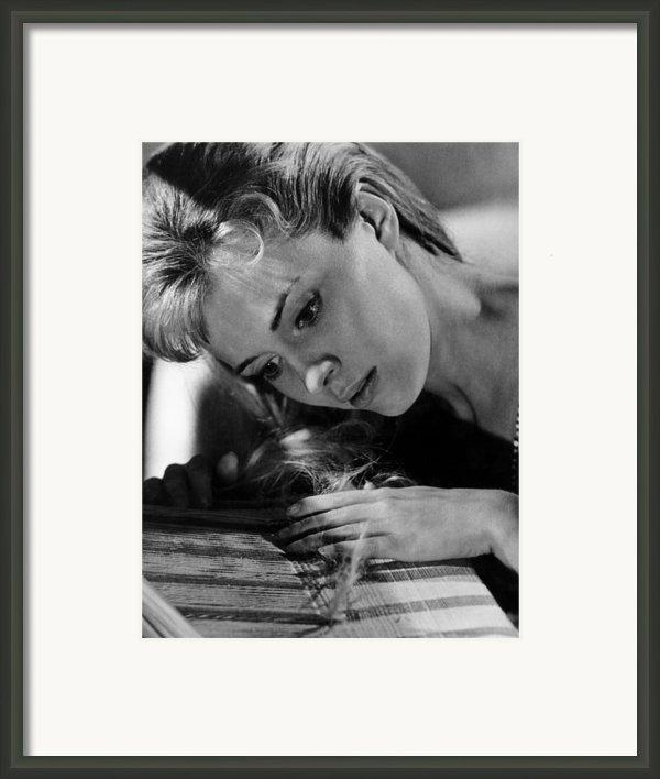 Lilith, Jean Seberg, 1964. Csu Framed Print By Everett
