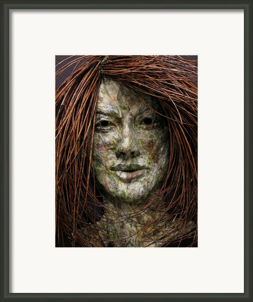 Lilly Framed Print By Adam Long