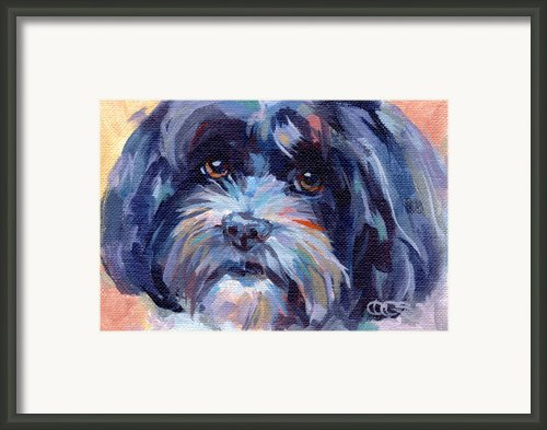 Lily Adult Framed Print By Kimberly Santini