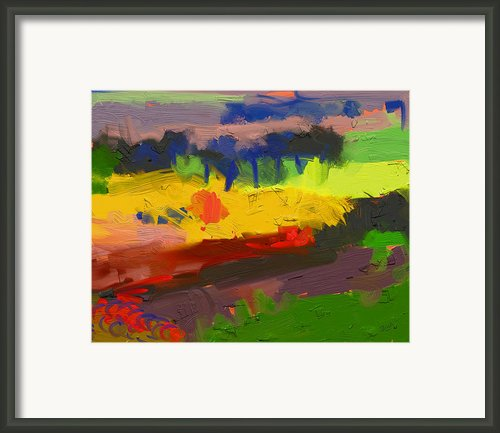 Limburg Landscape Framed Print By Nop Briex