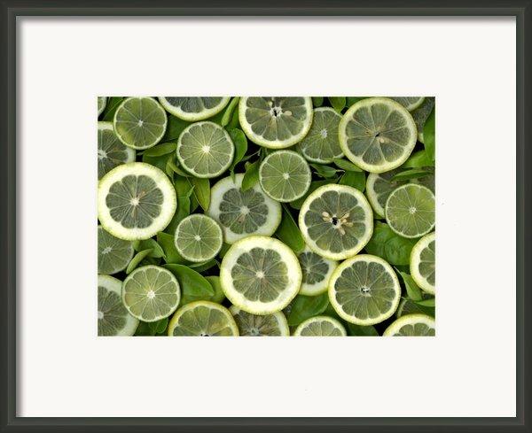 Limons Framed Print By Christian Slanec