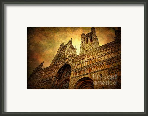 Lincoln Cathedral Framed Print By Yhun Suarez