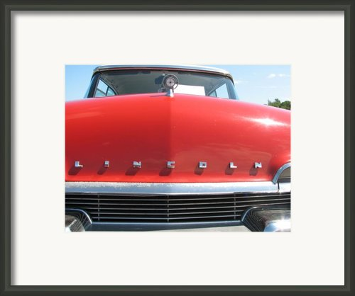 Lincoln Framed Print By Kelly Mezzapelle
