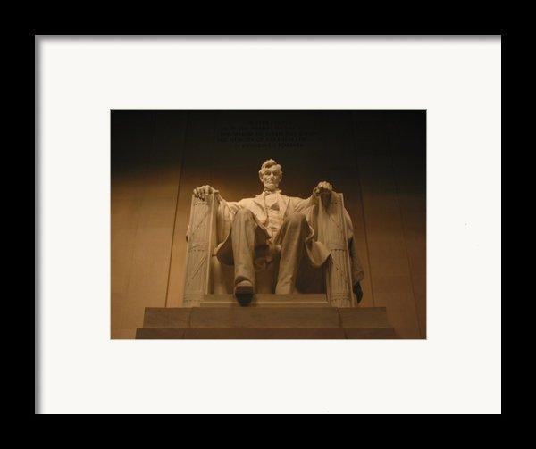 Lincoln Memorial Framed Print By Brian Mcdunn