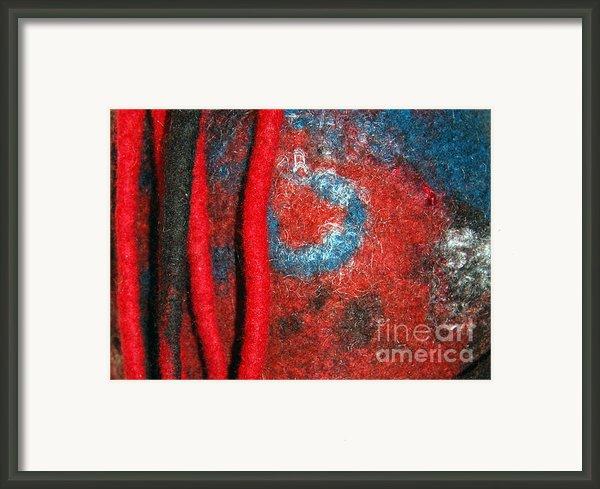Lined Up Reds     Framed Print By Alexandra Jordankova