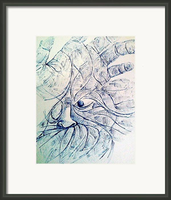 Lines Of The Hands Framed Print By Paulo Zerbato