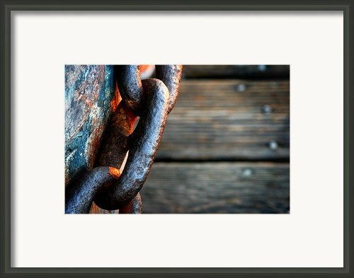 Linked Framed Print By Shane Rees