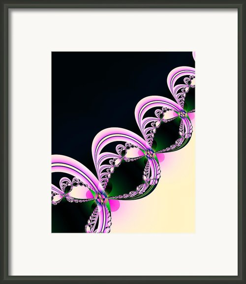 Linked Framed Print By Sharon Lisa Clarke