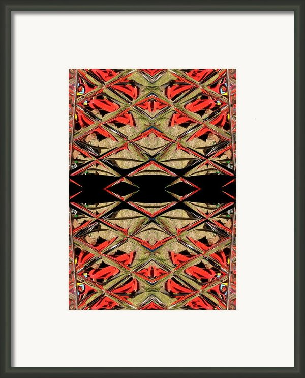Lit0911001008 Framed Print By Tres Folia