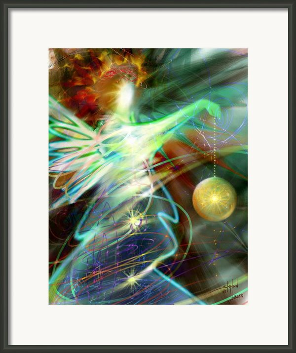Lite Brought Forth By The Archkeeper Framed Print By Stephen Lucas