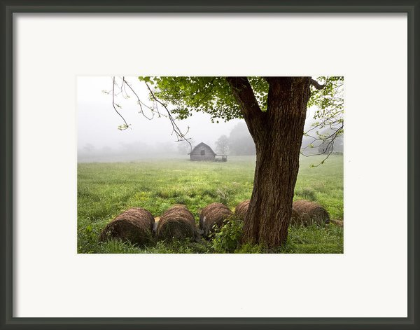 Little Barn Framed Print By Debra And Dave Vanderlaan
