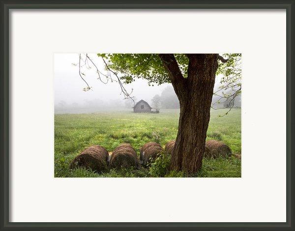Little Barn Framed Print By Debra And Dave Vanderlaan
