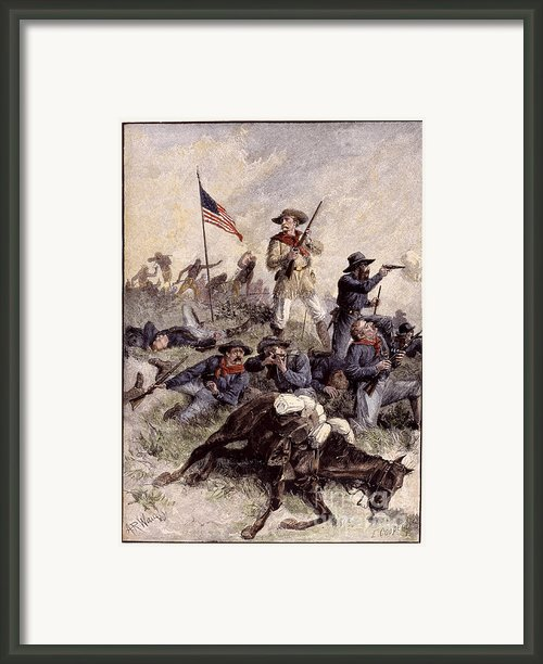 Little Bighorn, 1876 Framed Print By Granger