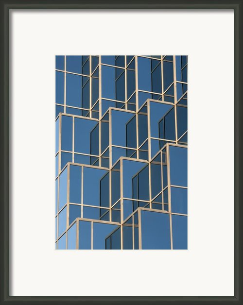 Little Boxes Framed Print By Elisabeth Van Eyken