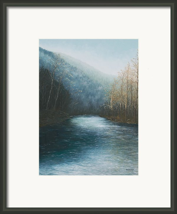 Little Buffalo River Framed Print By Mary Ann King