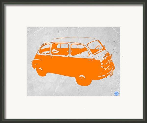 Little Bus Framed Print By Naxart Studio