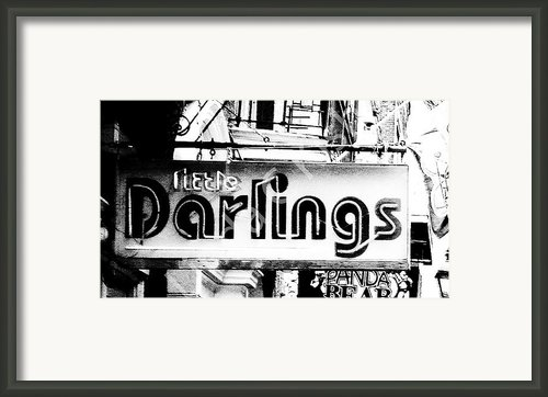 Little Darlings Framed Print By Linda Kish