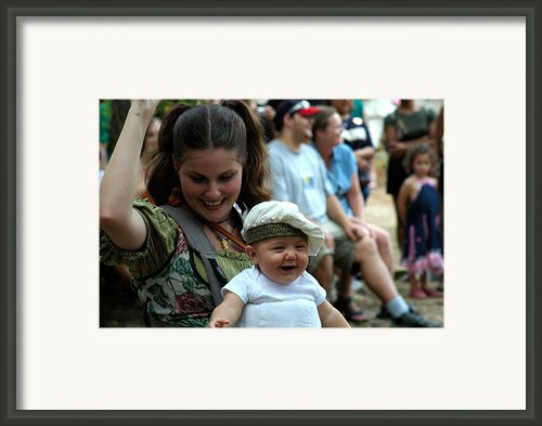 Little Doughboy Framed Print By Teresa Blanton
