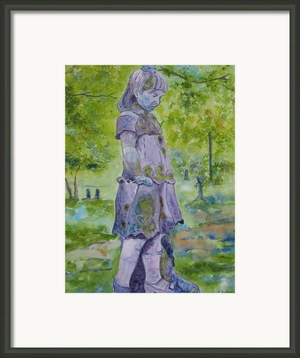 Little Nanny  Framed Print By Patsy Sharpe