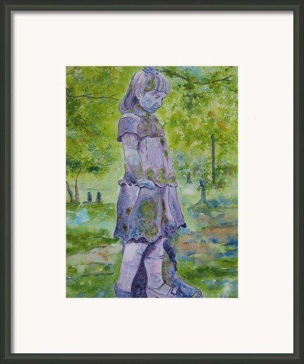 Little Nanny  Framed Print By Patsy Sharpe