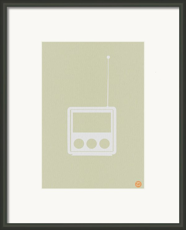Little Radio Framed Print By Irina  March