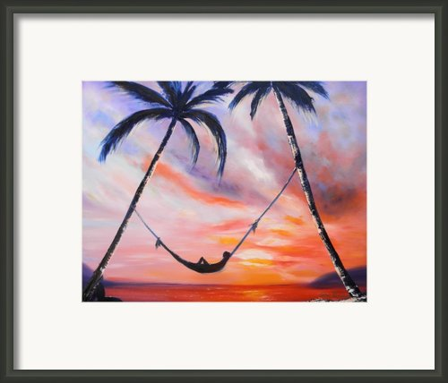 Living The Dream Framed Print By Gina De Gorna