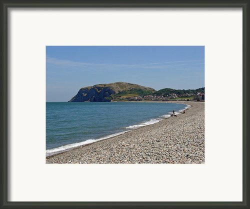 Llandudno Beach Framed Print By Rod Johnson