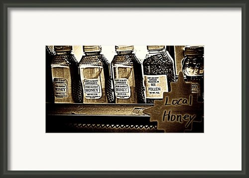 Local Honey Framed Print By Chris Berry
