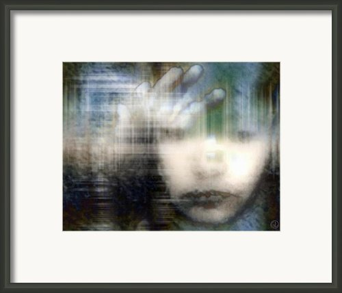 Locked In 2 Framed Print By Gun Legler