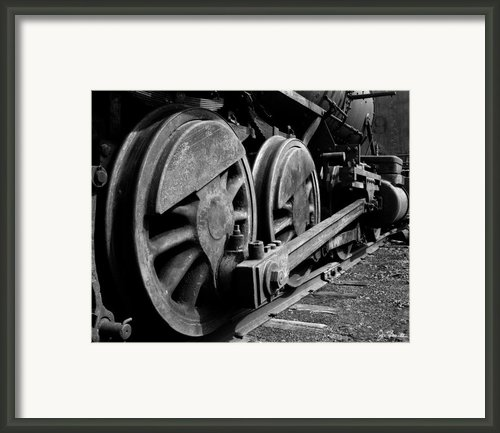 Locomotive Framed Print By Joe Bonita