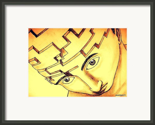 Logic-rational Compartments Framed Print By Paulo Zerbato