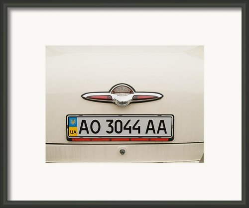 Logos Old Car Framed Print By Odon Czintos