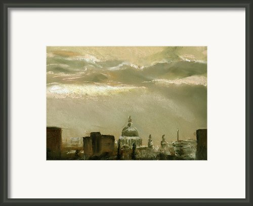 London City Dawn 2 Framed Print By Paul Mitchell