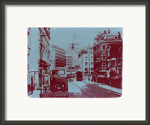 London Fleet Street Framed Print By Irina  March