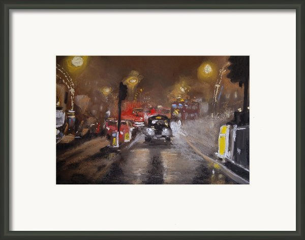 London Fog 1 Framed Print By Paul Mitchell