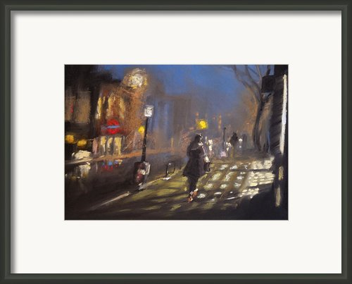 London Fog 2 Framed Print By Paul Mitchell