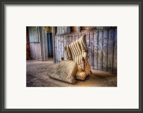 Lonely Chair Framed Print By Scott Norris