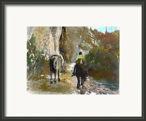Lonely Move Framed Print By Charles Shoup