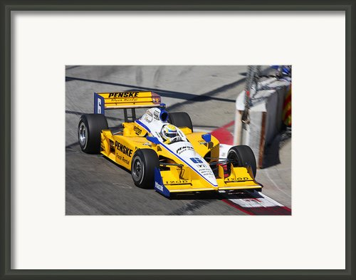 Long Beach Framed Print By Steve Parr