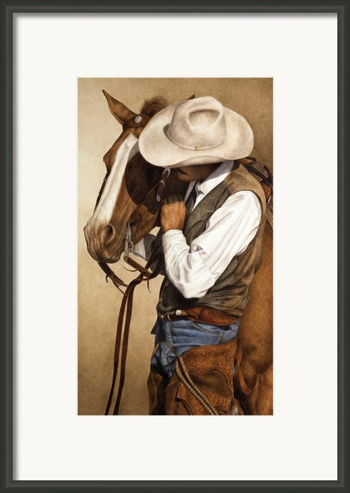 Long Time Partners Framed Print By Pat Erickson