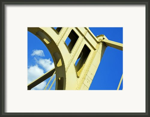 Look Up Pittsburgh Pa Framed Print By Kristen Vota