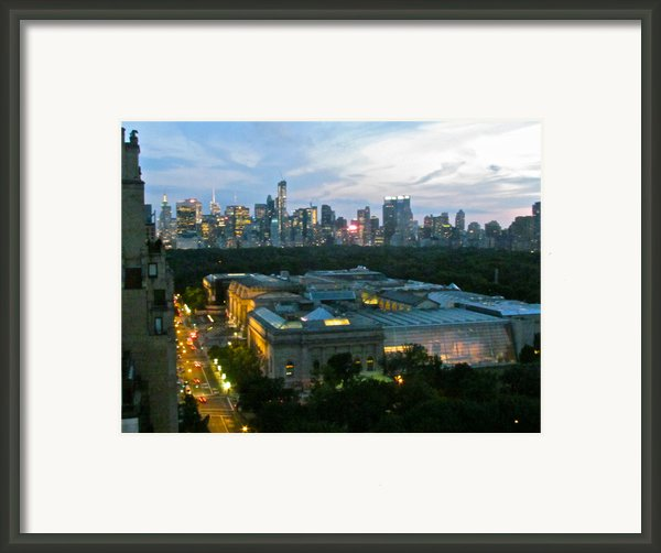 Looking South Nyc Framed Print By Randi Shenkman