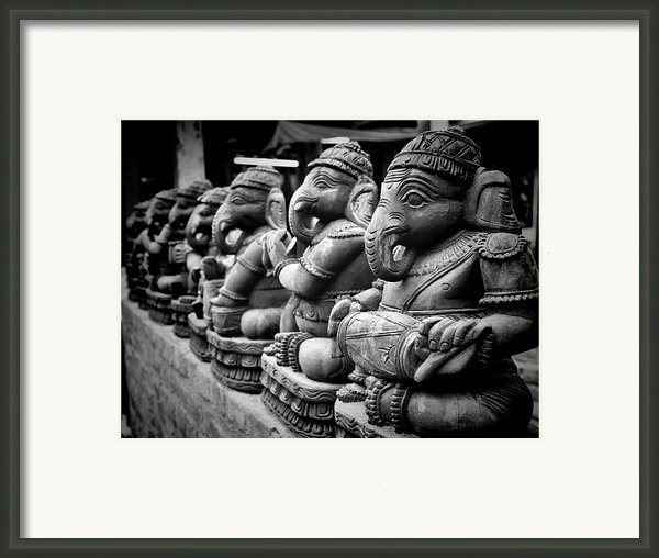 Lord Ganesha Framed Print By Abhishek Singh & Illuminati Visuals