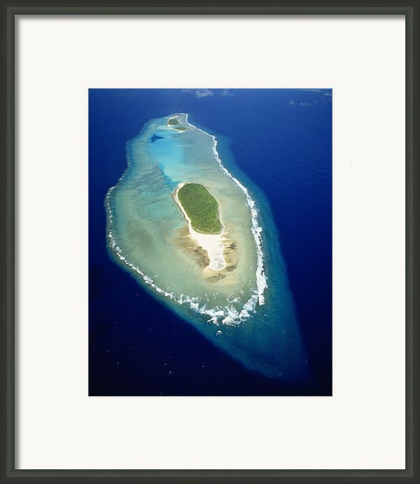Losiep Atoll Framed Print By Mitch Warner - Printscapes